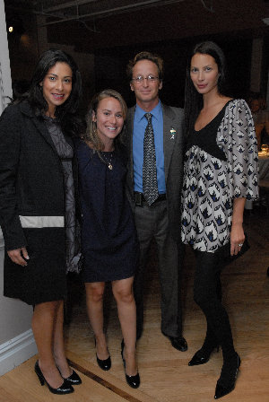 Stacy London, Kellie Safar Lerner, Dr. Joshua Sonett and Christy Burns